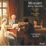 MOZART- String Quartets 17,19