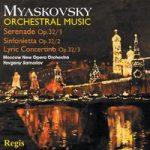 MIASKOVSKY- Orchestral Music