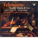 TELEMANN- 6 Recorder Sonatas