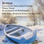 BRITTEN- Song Cycles