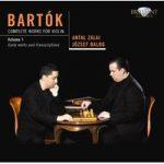 BARTOK- Violin Works Vol 1