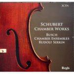 SCHUBERT- Chamber Works 3CDs