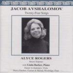Jacob AVSHALOMOV Twenty-Four Songs