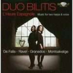 L'HEURE ESPAGNOL Music for Two Harps & Voice