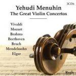 Yehudi MENUHIN The Great Violin Concertos 3CDs