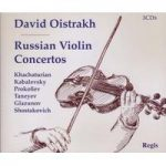 David OISTRAKH Russian Violin Concertos 3CDs