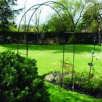 Metal Garden Rose Arch by Kingfisher