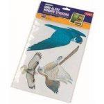 6 x Wild Bird Alert Window Stickers by Gardman