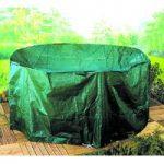 Medium Oval Patio Set Cover (1.9m) by Gardman