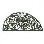 Burghley Design Semi Circular Cast Iron Doormat by Gardman
