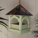 Hanging Wooden Bempton Bird Table By Wildlife World
