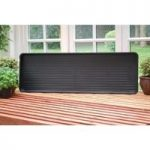 Plastic Growbag Tray in Black by Garland