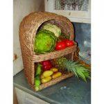 Wicker Willow Vegetable & Fruit Storage Basket