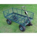 Heavy Duty 4 Wheel Garden Trolley by Selections