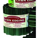 Green Plastic Lawn Edging Roll (16.5cm x 9m) by Gardman