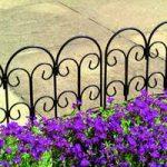 Steel Lawn Edging Panel (45cm x 41cm) by Gardman