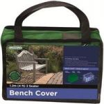 2 Seater 1.2m Bench Cover (Premium) in Green by Gardman