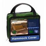 2 Seater 1.7m Swing Bench Hammock Cover (Premium) in Green by Gardman