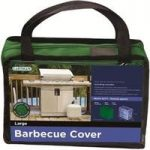 Large Barbecue Cover (Premium) in Green by Gardman