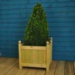 Wooden Garden Square Planter by Gardman