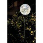 White Border Ball Light (Solar) by Gardman