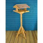 Wooden Self Assembly Bird Table by Gardman