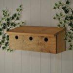 Sparrow Colony Wooden Premium Bird Nest Box by Gardman