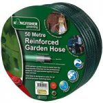 Three Layer Reinforced Garden Hose Pipe (50m) by Kingfisher