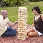 Giant Jenga Style Wooden Block Tower Garden Game by Kingfisher