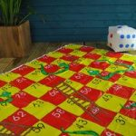 Giant Snakes and Ladders Garden Game by Kingfisher