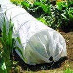 White Fleece Grow Tunnel Cloche by Gardman