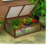 Polycarbonate & Wooden Cold Frame by Gardman