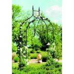 Black Metal Gothic Garden Arch by Gardman