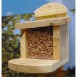 Heavy Duty Wooden Squirrel Feeder by Wildlife World
