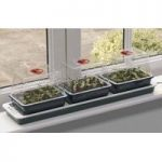 Three Top Windowsill Seed Propagator (Heated) by Garland