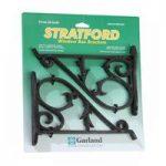 Plastic Stratford Hanging Basket Brackets (Set of 2) by Garland