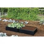 Plastic Raised Garden Bed Extension Kit by Garland