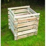 Wooden Slatted Composter (Small) by Selections
