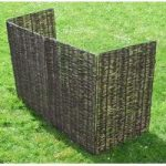 Willow Wheelie Bin Screen (Triple) by Selections