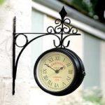 Kensington Double Sided Wall Clock by Gardman