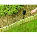 Lawn Edging Log Roll Pin (56cm) by Bosmere