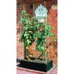 Plastic Raised Garden Bed and Support Frame by Garland