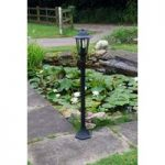 Kingfisher Traditional Victorian Post Lantern with 1 Light
