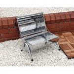 Portable Barrel Charcoal Barbecue by Kingfisher
