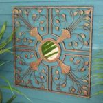 Moorish Mirror Antique Metal Wall Art by Gardman
