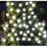 50 LED Extra Bright White String Lights (Solar) by Gardman