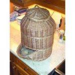Willow Potato Storage Hopper Basket