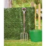 Artificial Conifer Hedge Garden Screening (1.5m x 3m) by Treadstone