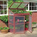 Extra Large Polycarbonate & Wooden Growhouse by Gardman
