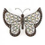 Butterfly Metal Garden Wall Art by Gardman